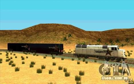 Desenganchados de vagões para GTA San Andreas segunda tela