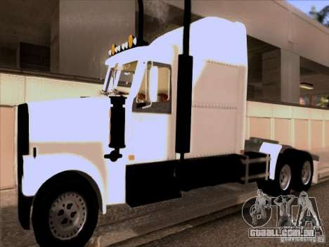 Western Star 4900EX skin 1 para GTA San Andreas esquerda vista