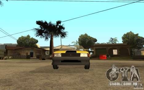 Moskvich 2141 Cabriolet para GTA San Andreas vista traseira