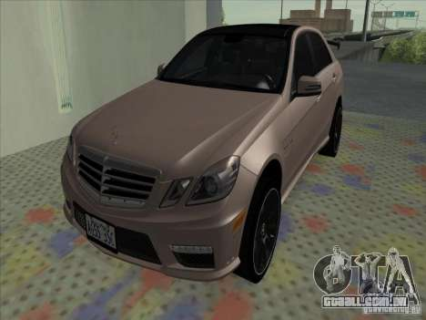 Mercedes-Benz E63 AMG Black Series Tune 2011 para GTA San Andreas