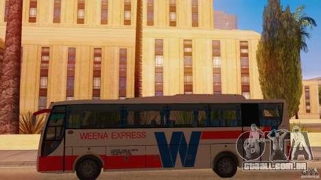 Weena Express para GTA San Andreas esquerda vista