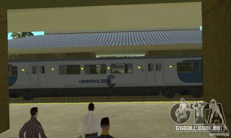Cerberail Train para GTA San Andreas