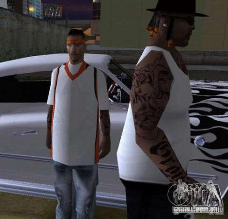 Bandas de substituição, tatuagens, roupas, etc. para GTA San Andreas décima primeira imagem de tela