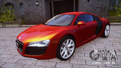 Audi R8 V10 para GTA 4