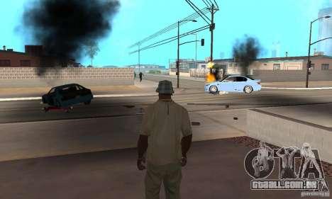 Hot adrenaline effects v1.0 para GTA San Andreas twelth tela