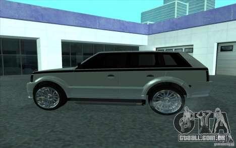 Huntley do GTA 4 para GTA San Andreas esquerda vista