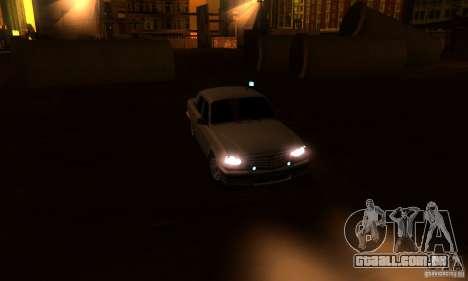 GAZ Volga 31105 advogado para vista lateral GTA San Andreas