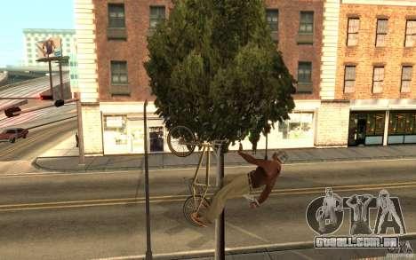BMX Master para GTA San Andreas segunda tela