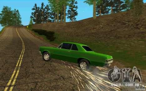 Punção de pneu para GTA San Andreas