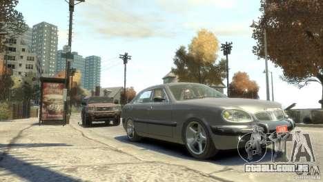 GÁS-3111 para GTA 4 vista de volta