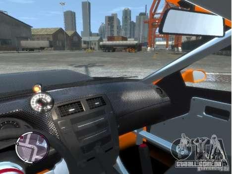Sultan RS HD FreeStyle Team para GTA 4 vista interior