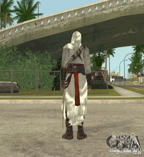 Assassins skins para GTA San Andreas sétima tela
