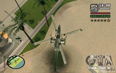 Bell AH-1Z Viper para GTA San Andreas vista direita