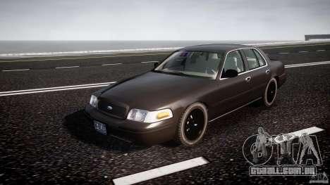 Ford Crown Victoria 2003 v2 FBI para GTA 4