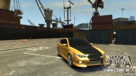 SUBARU Legacy B4 tuning para GTA 4 traseira esquerda vista