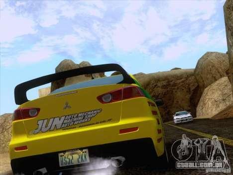 Downhill Drift para GTA San Andreas sétima tela