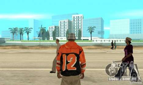 Hoodie 2 para GTA San Andreas terceira tela
