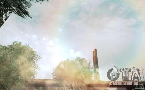 Lensflare para GTA San Andreas segunda tela