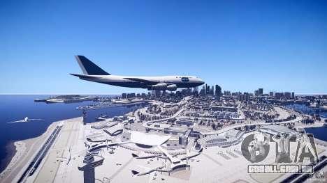 Pan Am Conversion para GTA 4 vista direita