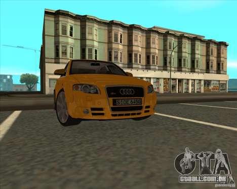 AUDI S4 Sport para GTA San Andreas vista direita