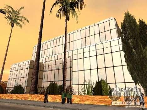 O novo hospital em Los Santos para GTA San Andreas quinto tela