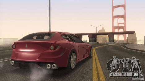 Ferrari FF 2011 V1.0 para o motor de GTA San Andreas