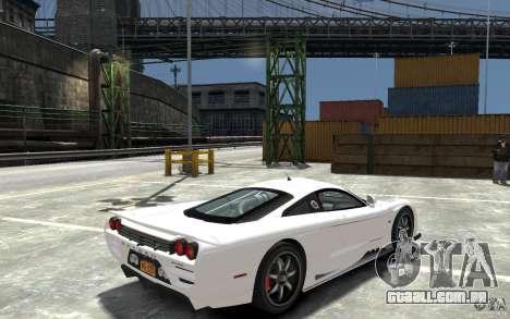 Saleen S7 para GTA 4 vista direita