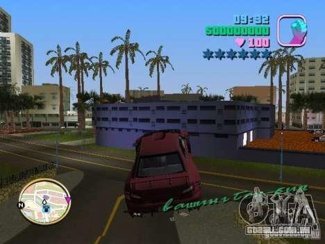 Subaru Impreza WRX STI para GTA Vice City vista traseira