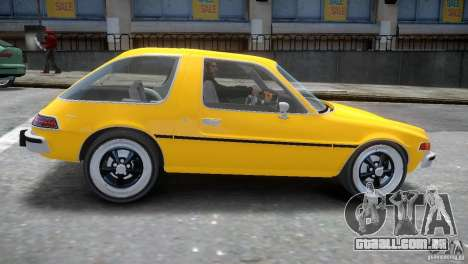 AMC Pacer 1977 v1.0 para GTA 4 vista interior