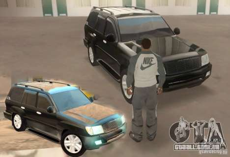Toyota Land Cruiser 100vx v2.1 para GTA San Andreas