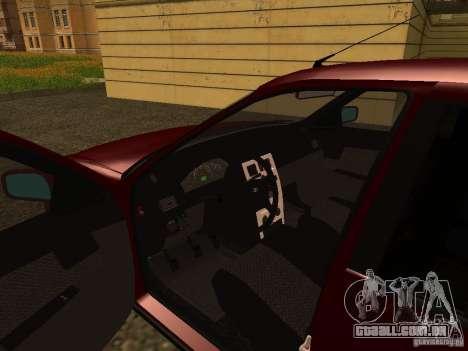 LADA 2170 Premier para GTA San Andreas vista traseira