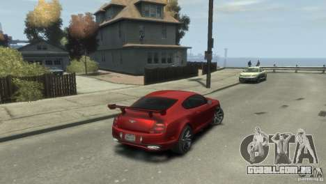 Bentley Continental SS para GTA 4 esquerda vista