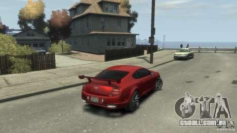 Bentley Continental SS para GTA 4 esquerda vista