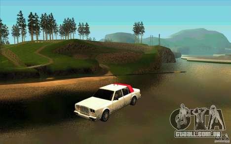 Avtolët para GTA San Andreas traseira esquerda vista
