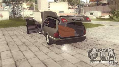 Mercedes-Benz E320 Funeral Hearse para GTA San Andreas esquerda vista