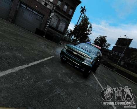 Chevrolet Tahoe Hungarian Vam-Zoll Custom para GTA 4 vista direita