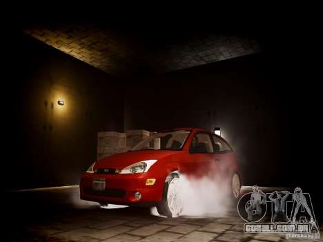 Ford Focus SVT 2003 para GTA 4 vista de volta