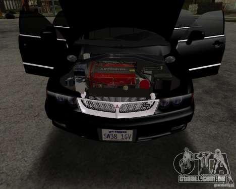 Mitsubishi Diamante para GTA San Andreas vista direita