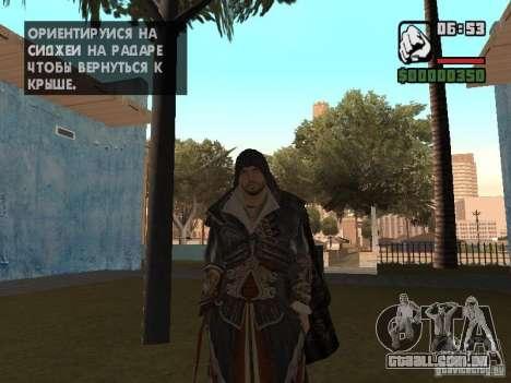 Ezio auditore em armadura de Altair para GTA San Andreas