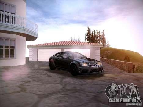 Improved Vehicle Lights Mod para GTA San Andreas segunda tela