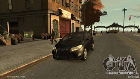 Ford Focus Universal Unmarked para GTA 4