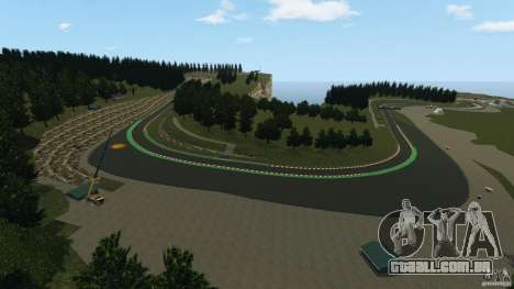 SPA Francorchamps [Beta] para GTA 4 quinto tela