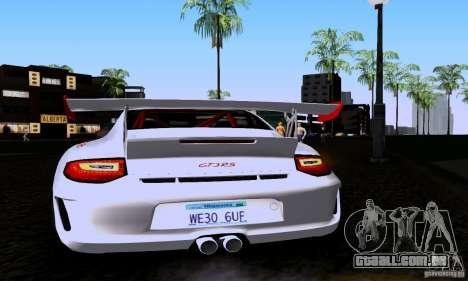 Porsche 911 GT3 RS para GTA San Andreas vista direita