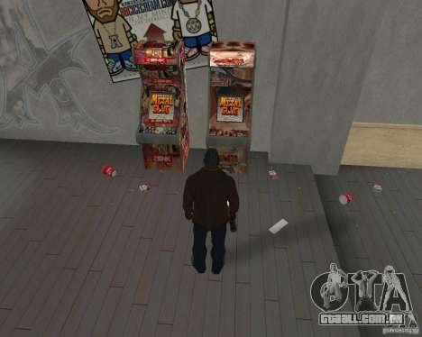 Novas texturas de restaurantes e lojas para GTA San Andreas terceira tela