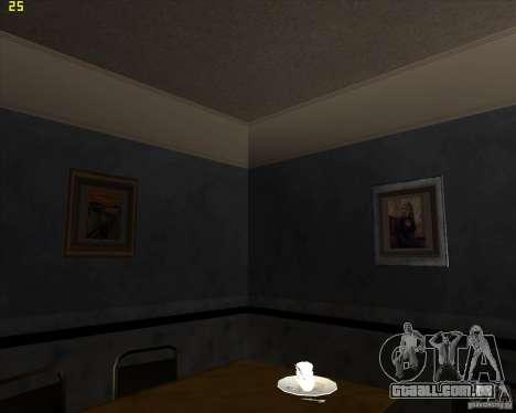 Pinturas da casa CJ para GTA San Andreas quinto tela