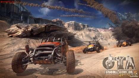 Menus e telas de carregamento RAGE para GTA San Andreas quinto tela