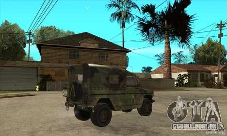 Mercedes Wolf para GTA San Andreas vista direita