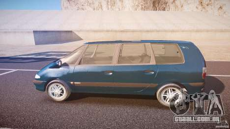 Renault Grand Espace III para GTA 4 esquerda vista