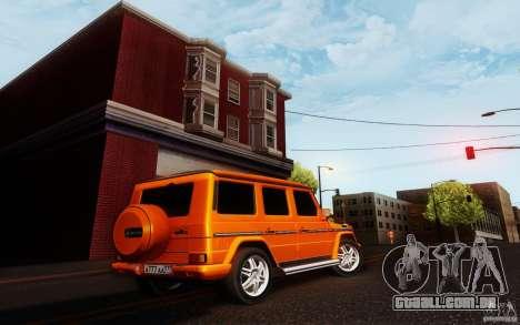 New Graphic by musha v3.0 para GTA San Andreas terceira tela