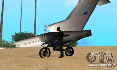 Lost Island para GTA San Andreas quinto tela